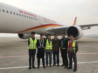 bobapp技术高效完成A350-900机型国内首次全顶升排故